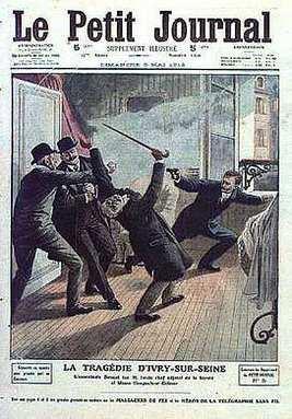 Jules Bonnot tue le commissaire Jouin, Le petit journal (5 Mai 1912)